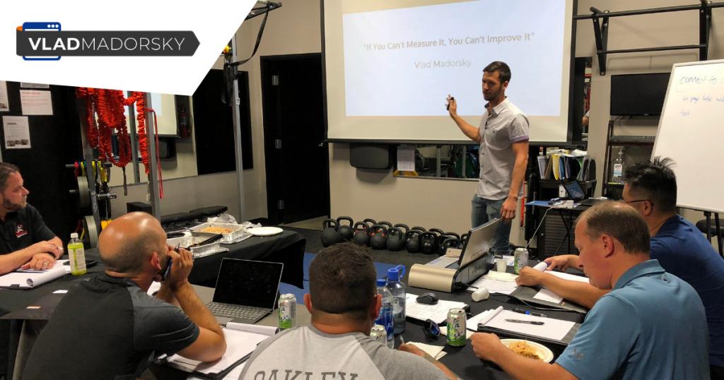 Vlad Madorsky Coaching Chiroprators